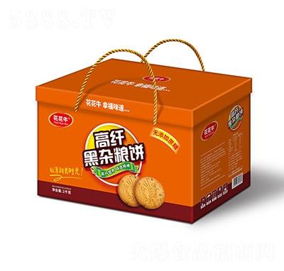 花花牛高纤黑杂粮饼2kg