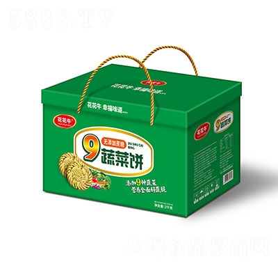 花花牛9蔬菜饼2kg