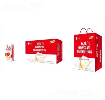 白象花生+燕麦牛奶复合蛋白饮料