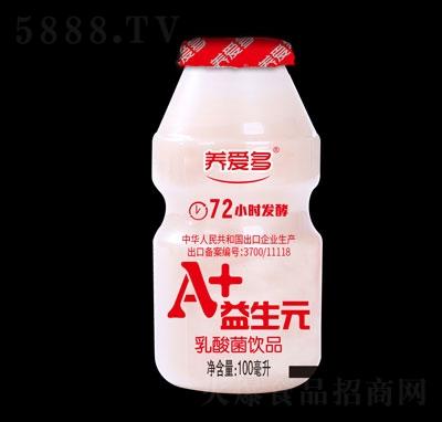 养爱多A+益生元乳酸菌饮品100ml