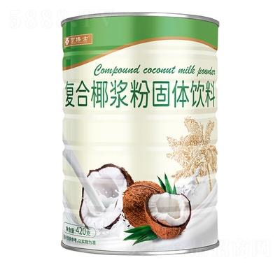 亨博士复合椰浆粉固体饮料420g产品图