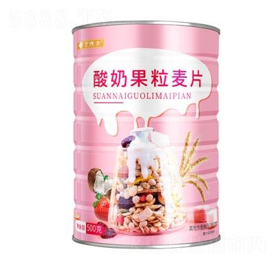 亨博士酸奶果粒麦片500g产品图
