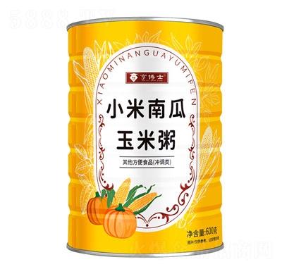 亨博士小米南瓜玉米粥600g产品图