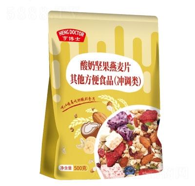 亨博士酸奶坚果燕麦片500g产品图