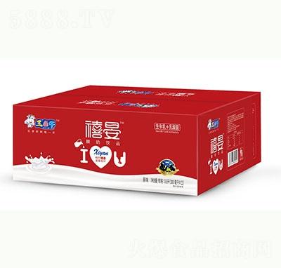 三色牛禧晏酸奶饮品300mlx12盒