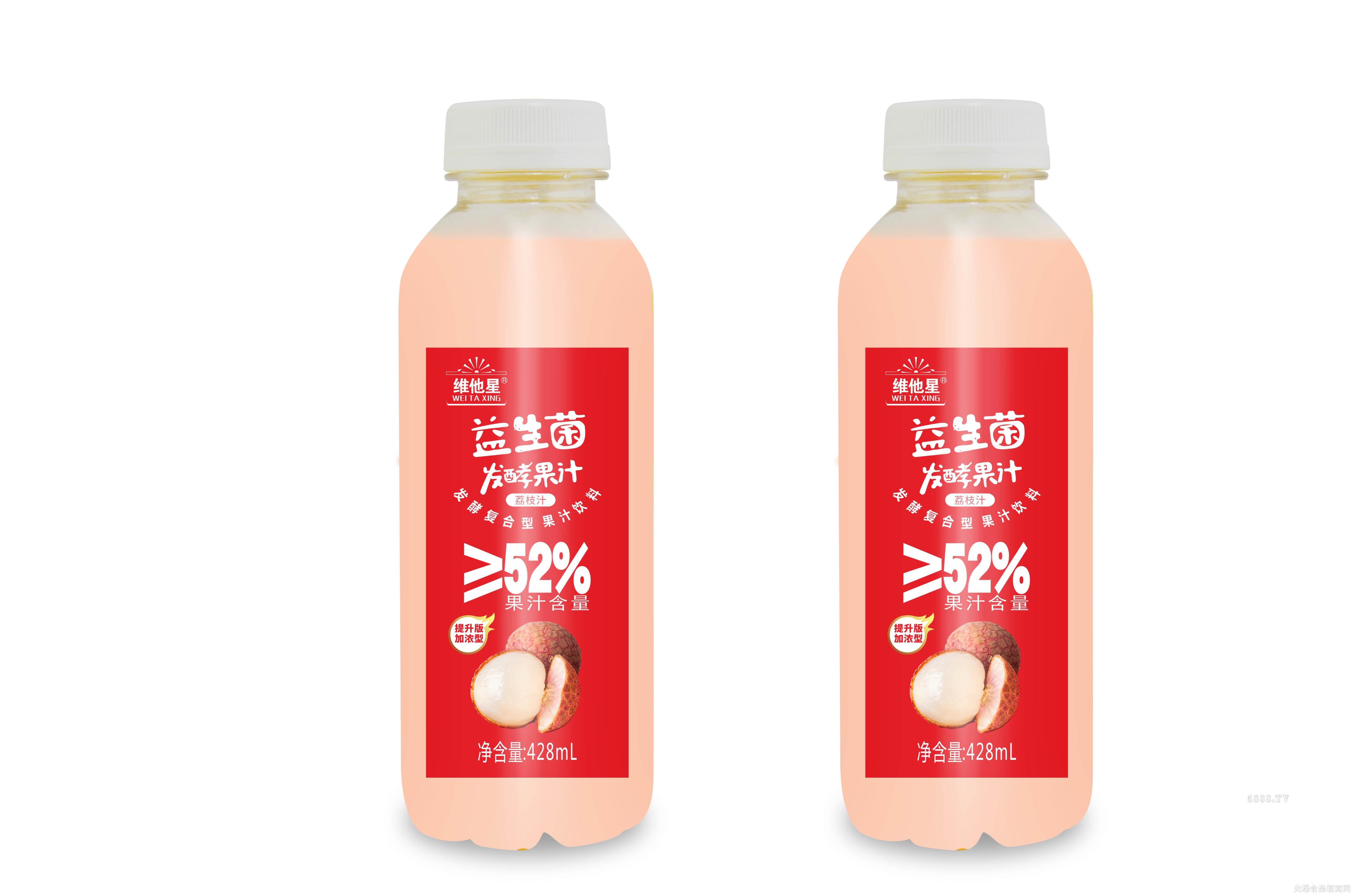 维他星发酵果汁荔枝味428ml