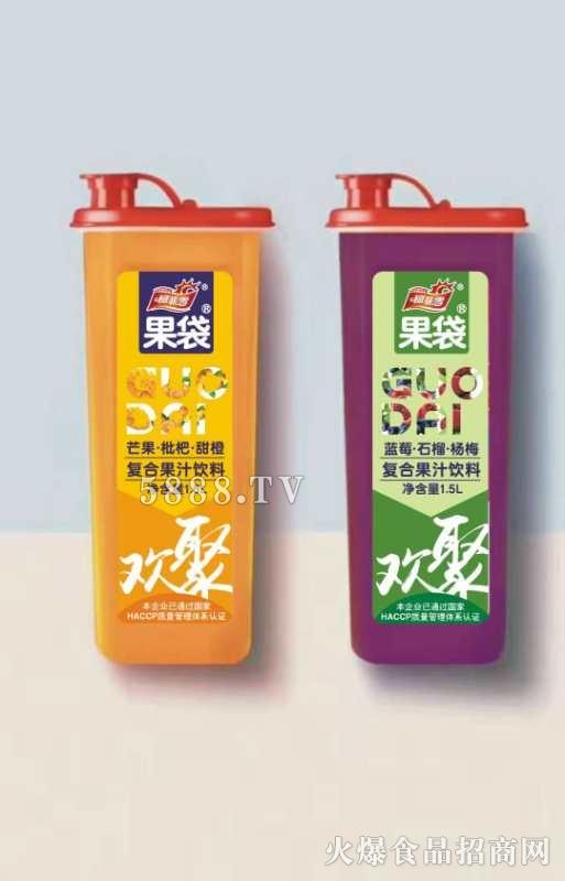 柯菲雪果袋复合果汁饮料1.5L