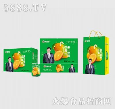 兔巴哥芒果汁16罐