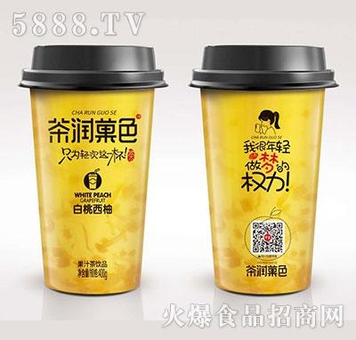 中星茶润菓色白桃西柚400g产品图