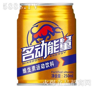 名动能量维生素运动饮料250ml产品图