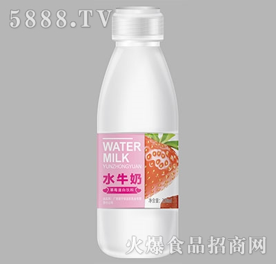 佳顿水牛奶草莓蛋白饮料330ml