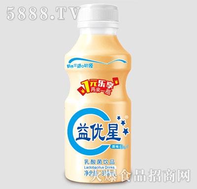 益优星原味乳酸菌饮品338ml产品图