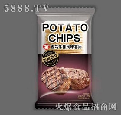 波罗客西冷牛排风味薯片