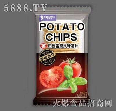 波罗客田园番茄风味薯片