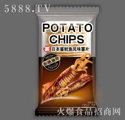 波罗客日本酱鱿鱼风味薯片