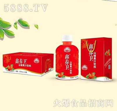 鑫养卫山楂果汁果肉饮料箱装