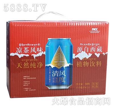 清风度植物饮料310mlx12