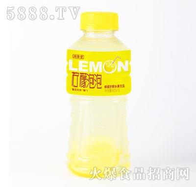 同聚堂柠檬泡泡蜂蜜柠檬水果饮品425mlX15瓶
