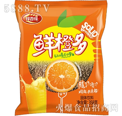 蜂香缘鲜橙多固体饮料358ml
