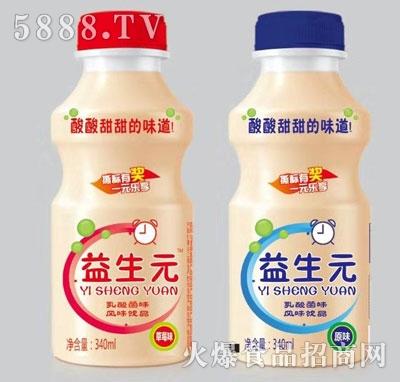 益生元乳酸菌风味饮品340ml
