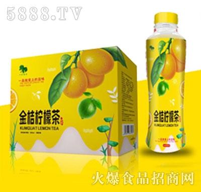 翠绿源金桔柠檬茶