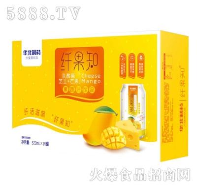 纤果知芝士+芒果果蔬汁饮品320mlX16