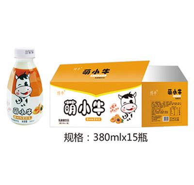 萌小牛黄桃奶昔乳酸菌饮品380mlx15瓶