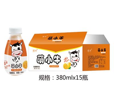 萌小牛芒果奶昔乳酸菌饮品380mlx15瓶