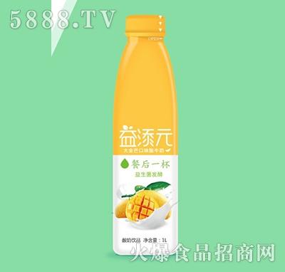 益添元大金芒口味酸奶1L