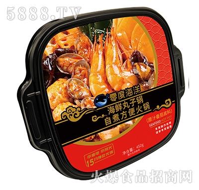 零度海洋海鲜丸子锅自煮方便火锅原汁番茄底料450g