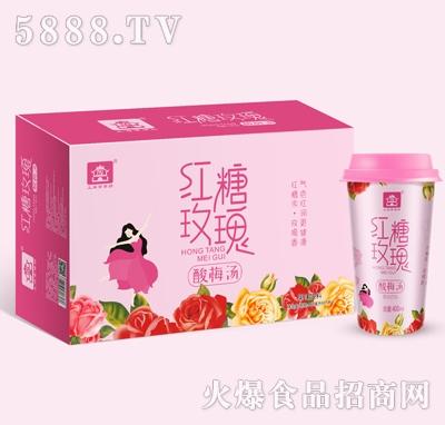 京膳坊杯装红糖玫瑰酸梅汤400mlX15产品图
