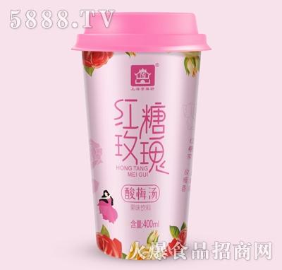 京膳坊杯装红糖玫瑰酸梅汤400ml产品图