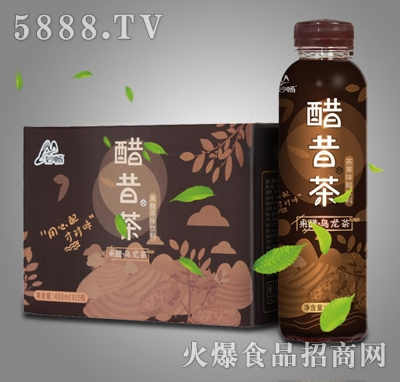 酷昔茶果醋乌龙茶480mlX15