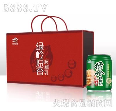绿岭原香核桃乳(箱)