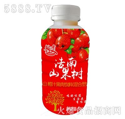 智爽山楂汁果肉饮料320ml