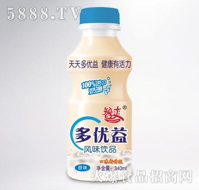 智爽多优益风味饮品340ml