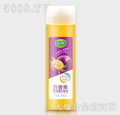 乐朋百香果复合果汁饮料408ml
