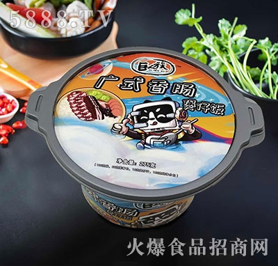巨人族广式香肠煲仔饭275g