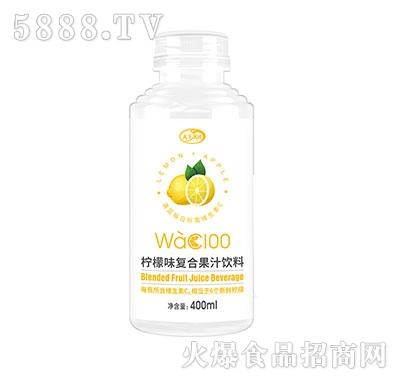 天下水坊柠檬味复合果汁饮料400ml