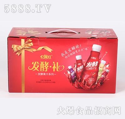 亿露红发酵果汁系列五种口味混合装240ml×10瓶
