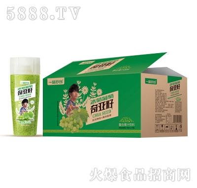 一品云台冰菊葡萄奇亚籽复合果汁饮料438mlX15