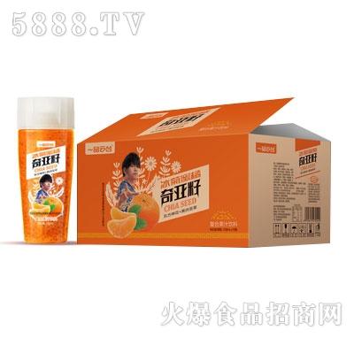 一品云台冰菊蜜橘奇亚籽复合果汁饮料438mlX15