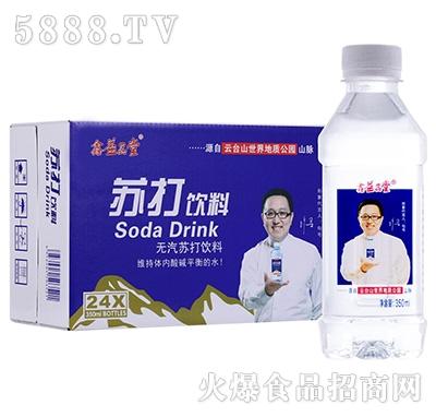 益品堂无汽苏打饮料350mlx24瓶