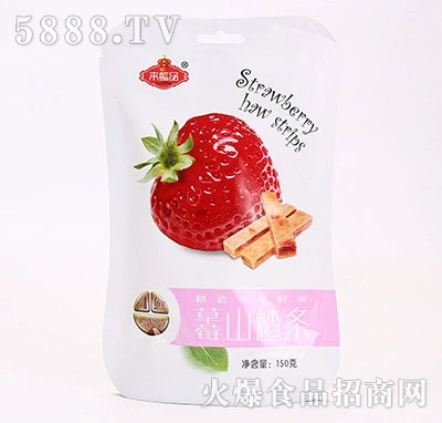 来懿品草莓山楂条150g产品图