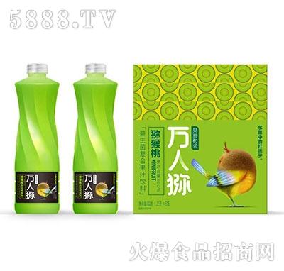 果真初采益生菌猕猴桃复合果汁1.25×6瓶