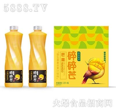 果真初采芒果益生菌发酵果汁饮料1.25L×6瓶