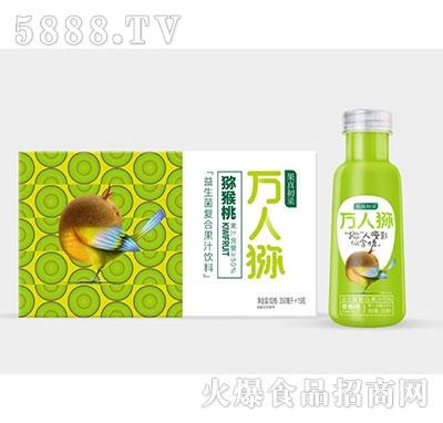 果真初采益生菌猕猴桃复合果汁350ml×15瓶