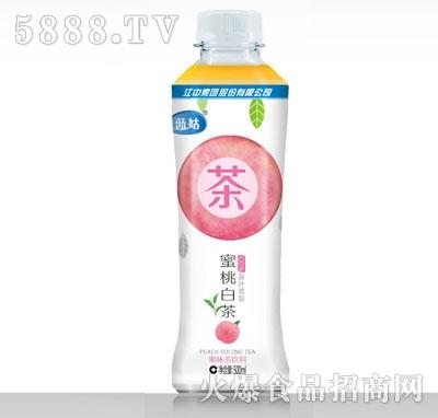 蓝菇蜜桃白茶果味茶饮料500ml