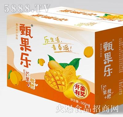 甄果乐芒果枇杷复合果汁