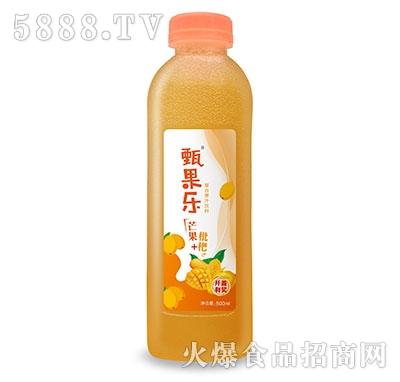 甄果乐芒果枇杷复合果汁500ml